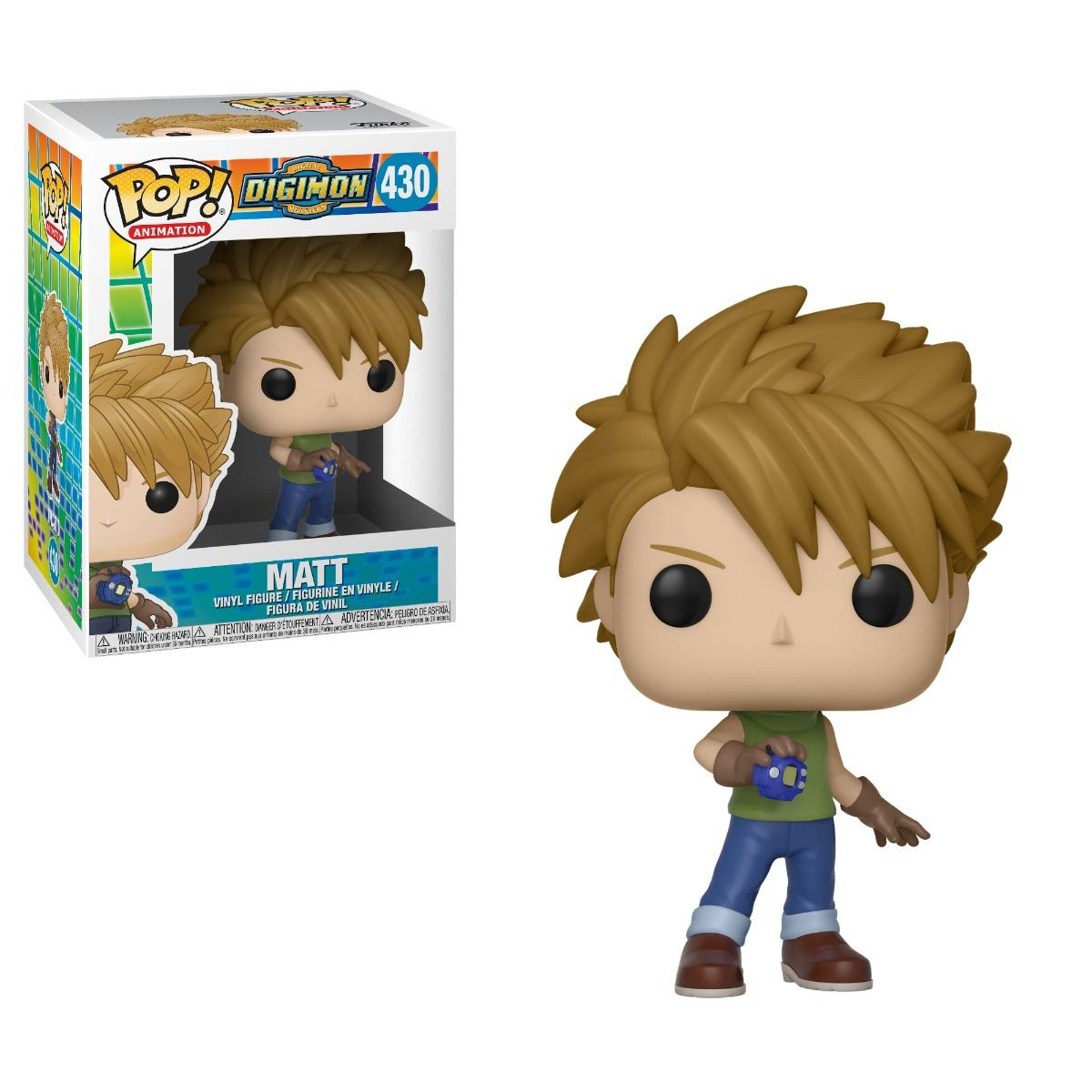 POP FUNKO 430 MATT DIGIMON