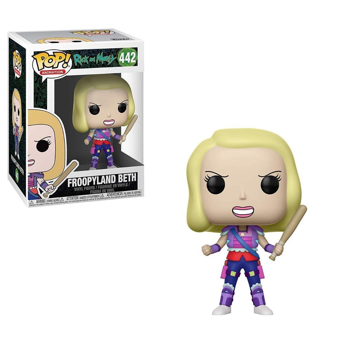 POP FUNKO 442 FROOPYLAND BETH RICK AND MORTY
