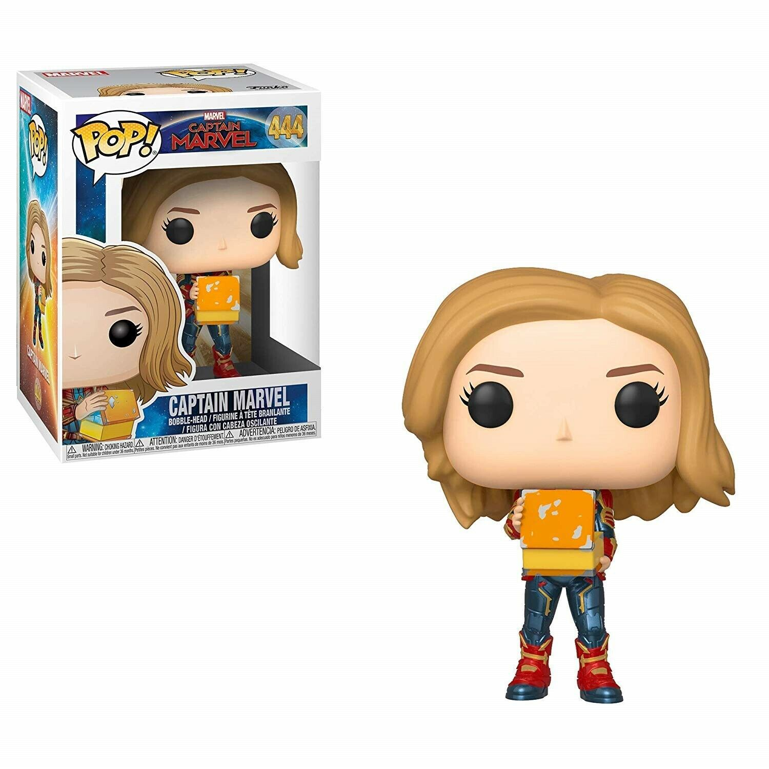 POP FUNKO 444 CAPTAIN MARVEL With Lunch Box