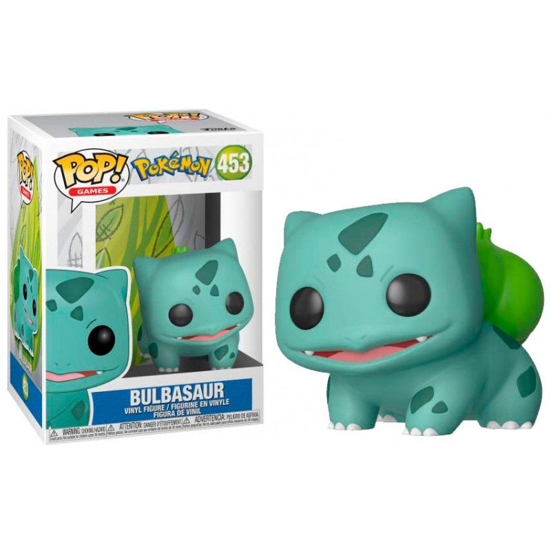POP FUNKO 453 BULBASAUR POKEMON