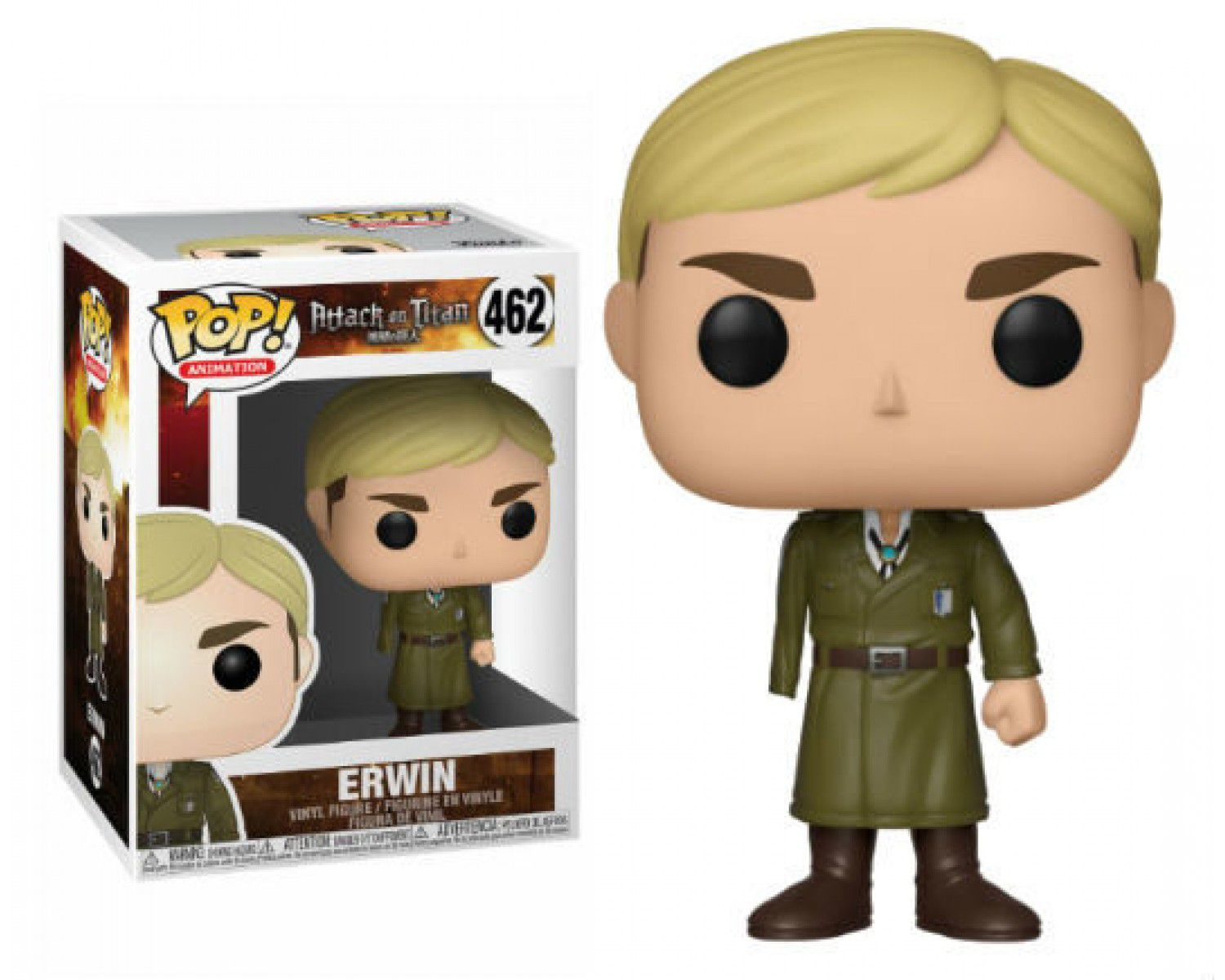POP FUNKO 462 ERWIN ATTACK ON TITAN