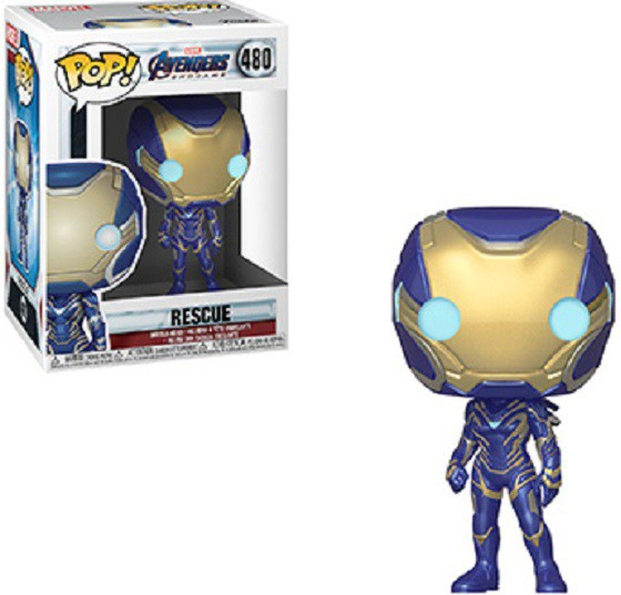 POP FUNKO 480 RESCUE AVENGERS END GAME PEPPER POTS