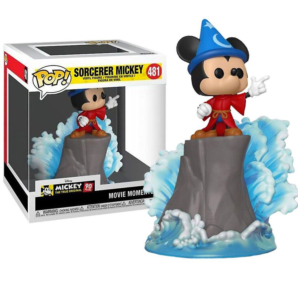 POP FUNKO 481 SORCERER MICKEY MOVIE MOMENTS 80 YEARS