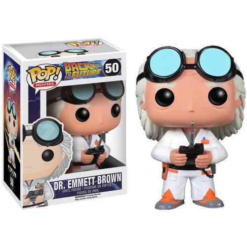 POP FUNKO 50 DR. EMMETT BROWN BACK TO THE FUTURE