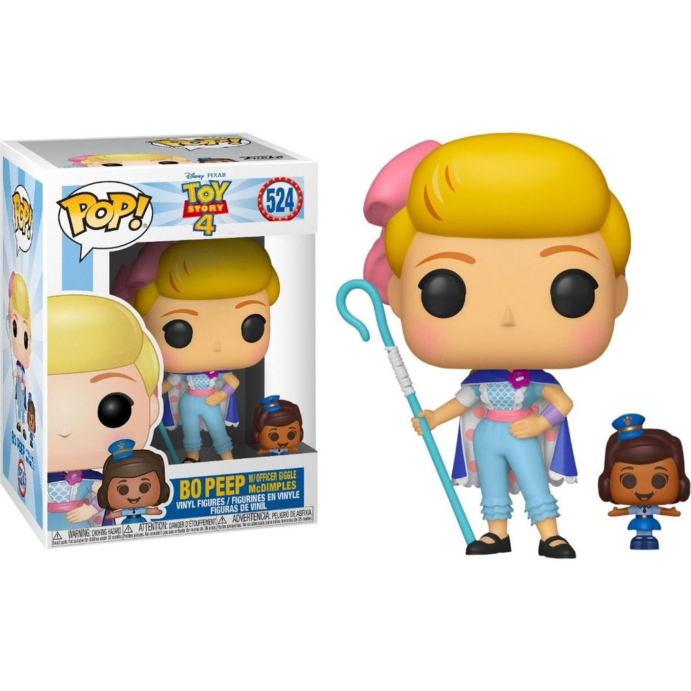 POP FUNKO 524 BO PEEP W OFFICE GIGGLE MCDIMPLES TOY STORY 4
