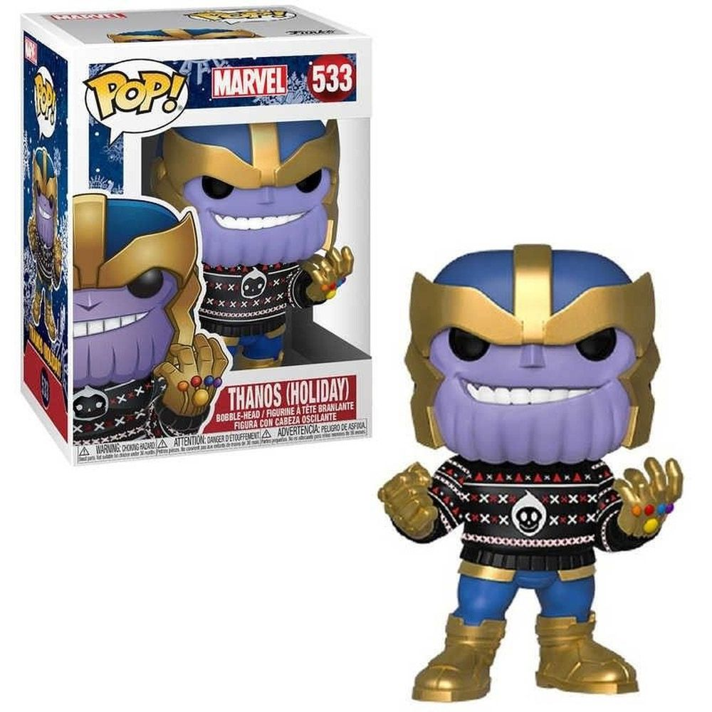 POP FUNKO 533 THANOS HOLIDAY MARVEL