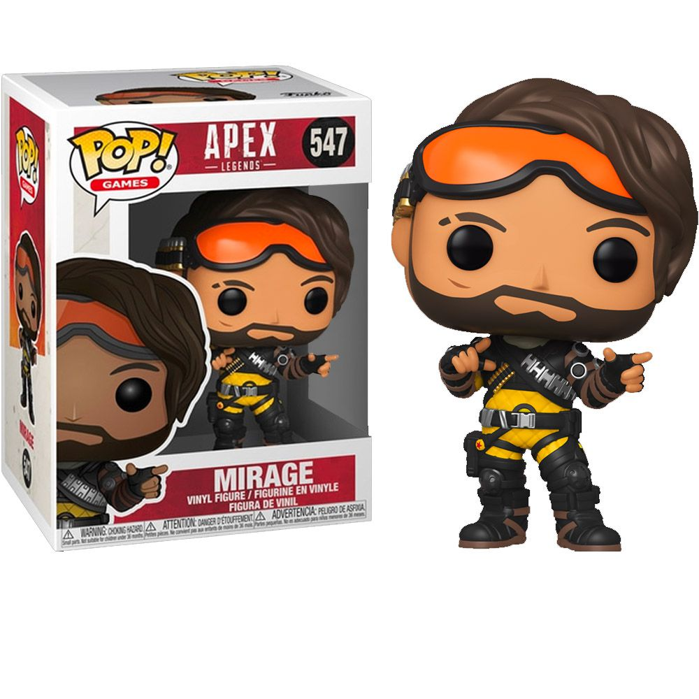 POP FUNKO 547 MIRAGE APEX LEGENDS