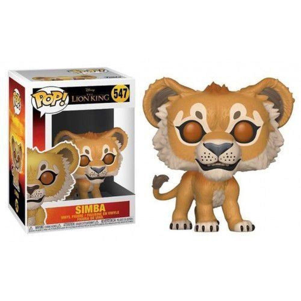 POP FUNKO 547 SIMBA LION KING LIVE ACTION