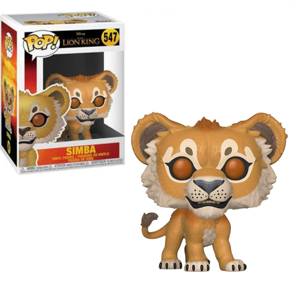 POP FUNKO 547 SIMBA LION KING LIVE ACTION