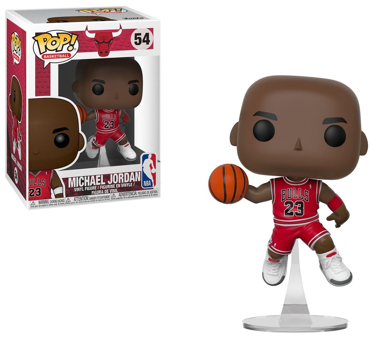 POP FUNKO 54 MICHAEL JORDAN CHICAGO BULLS NBA