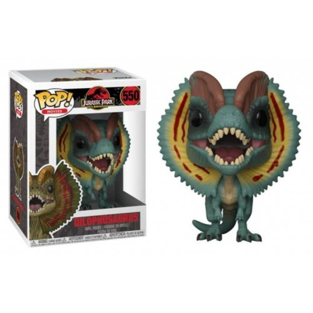 POP FUNKO 550 Dilophosaurus Jurassic Park