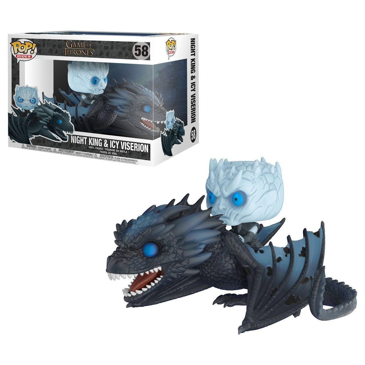 POP FUNKO 58 NIGHT KING VISERION GAME OF THRONES
