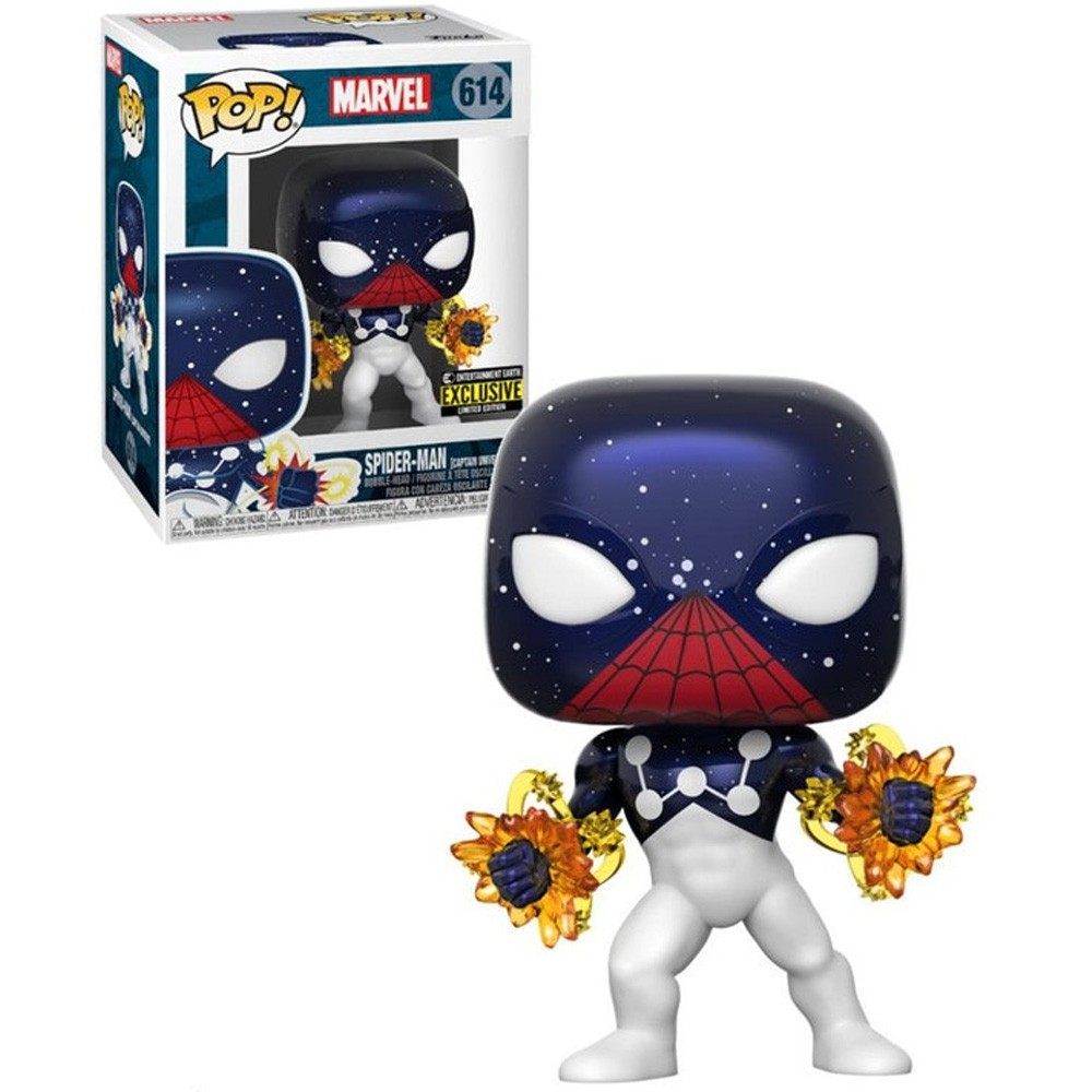 POP FUNKO 614 SPIDERMAN CAPTAIN UNIVERSE MARVEL