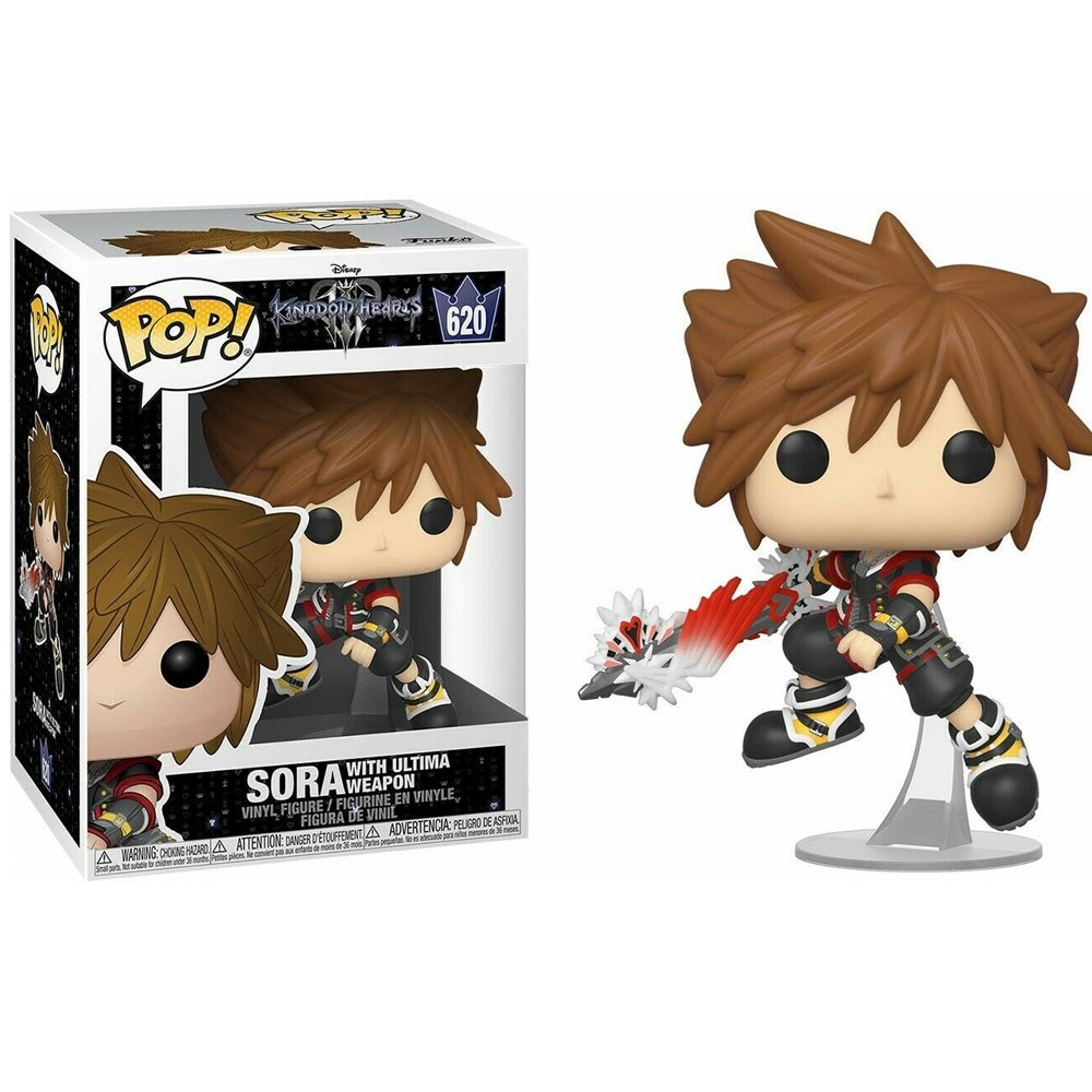 POP FUNKO 620 SORA WITH ULTIMA WEAPON KINGDOM HEARTS