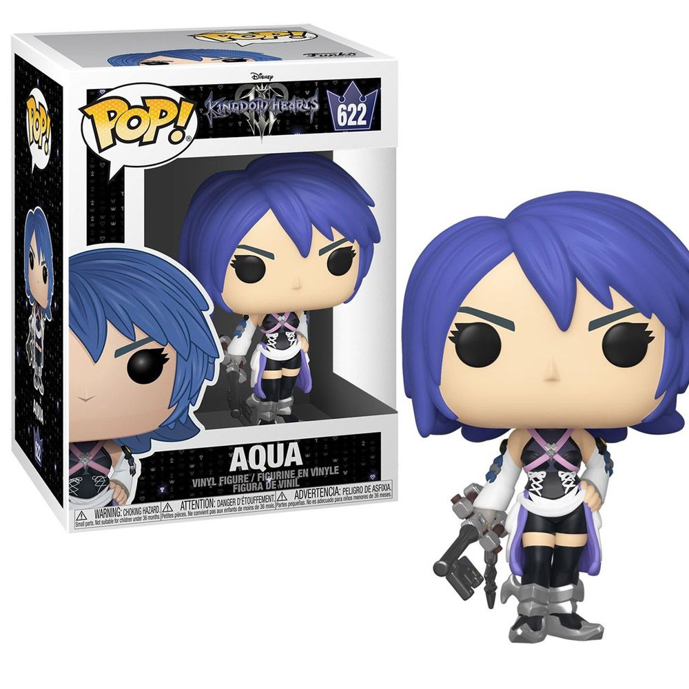 POP FUNKO 622 AQUA KINGDOM HEARTS III