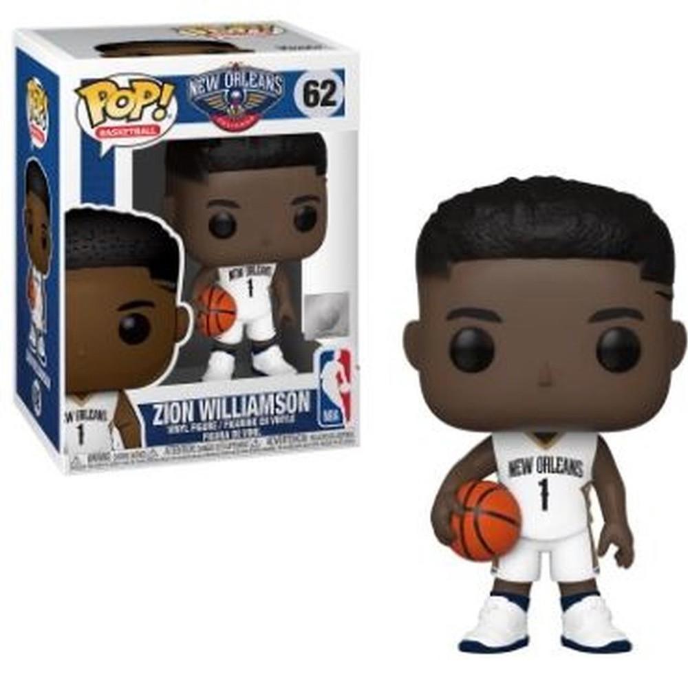 POP FUNKO 62 ZION WILLIAMSON NEW ORLEANS PELICANS NBA