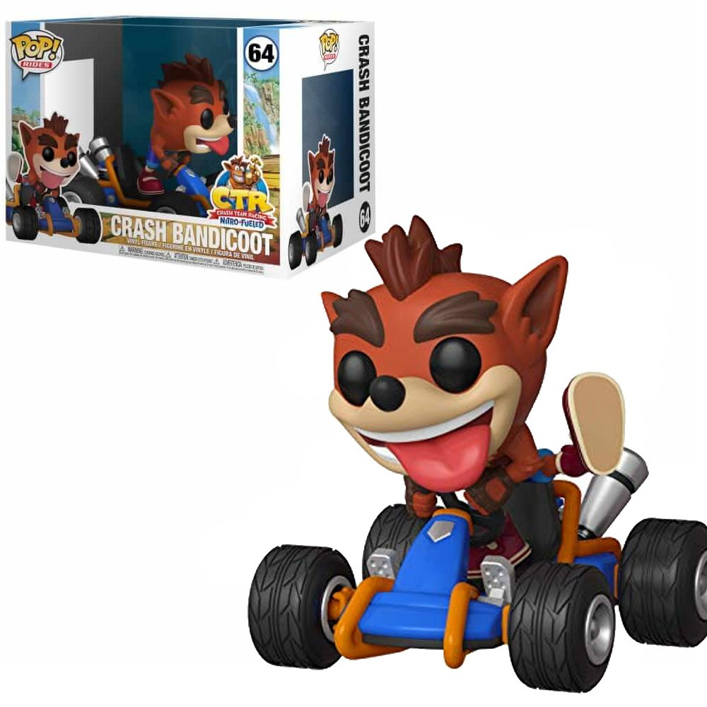 POP FUNKO 64 CRASH BANDICOOT RACING KART
