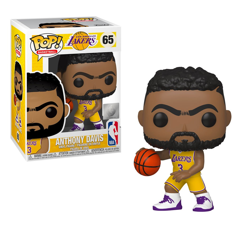 POP FUNKO 65 ANTHONY DAVIS NBA LOS ANGELES LAKERS