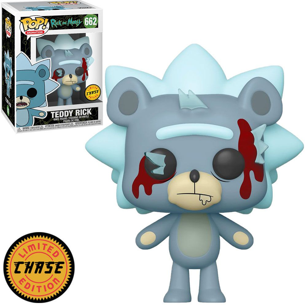 POP FUNKO 662 CHASE TEDDY RICK RICK AND MORTY CHASE