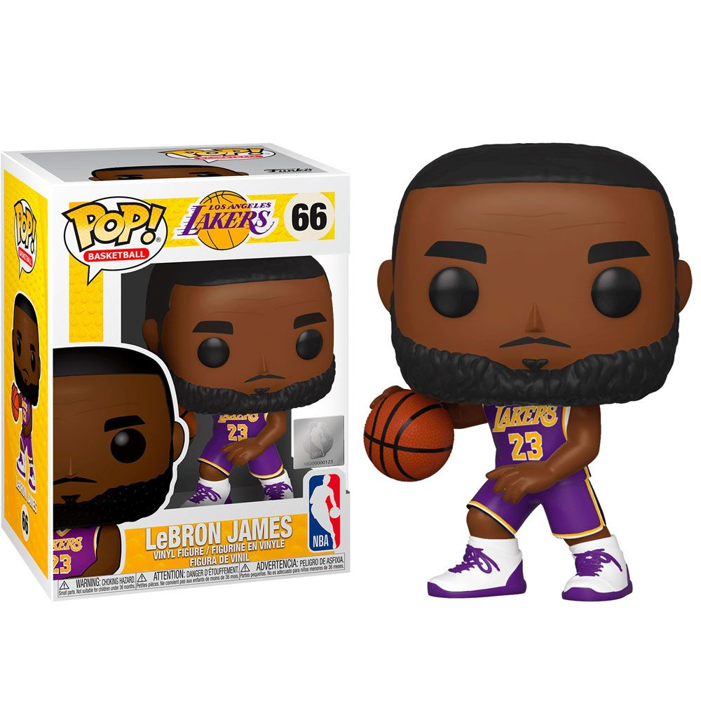 POP FUNKO 66 LEBRON JAMES NBA Lakers