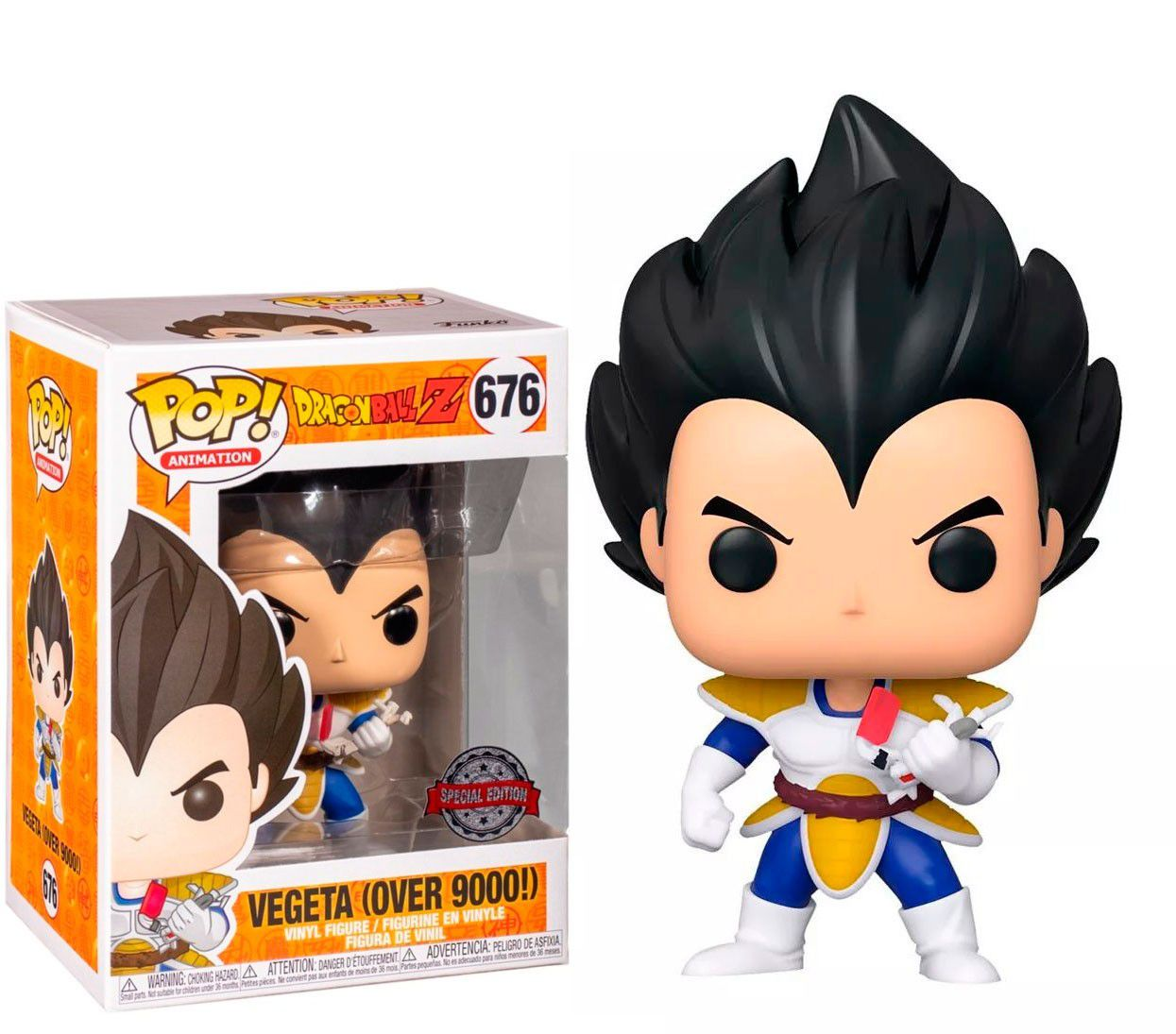 POP FUNKO 676 VEGETA (OVER 9000)