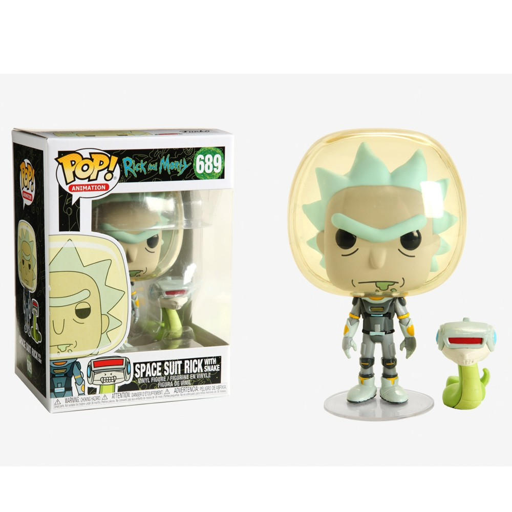 POP FUNKO 689 RICK SPACE W/ SNAKE RICK AND MORTY