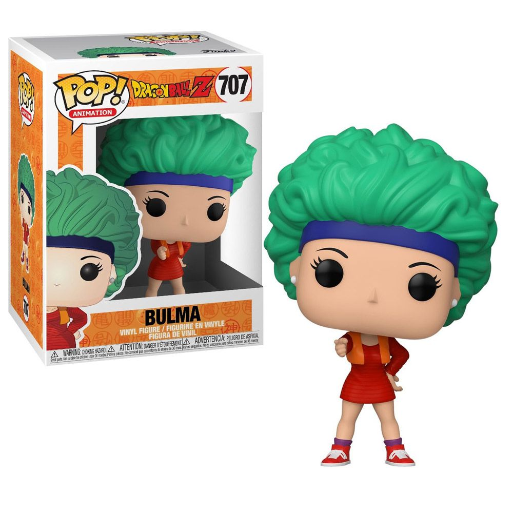 POP FUNKO 707 BULMA DRAGON BALL Z