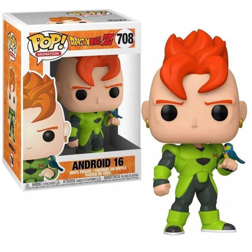 POP FUNKO 708 ANDROID 16 DRAGON BALL Z