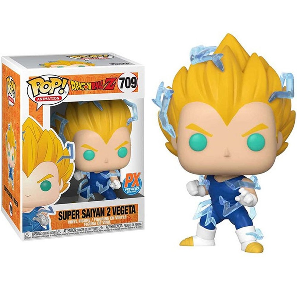 POP FUNKO 709 SUPER SAIYAN 2 VEGETA PX EXCLUSIVE DRAGON BALL