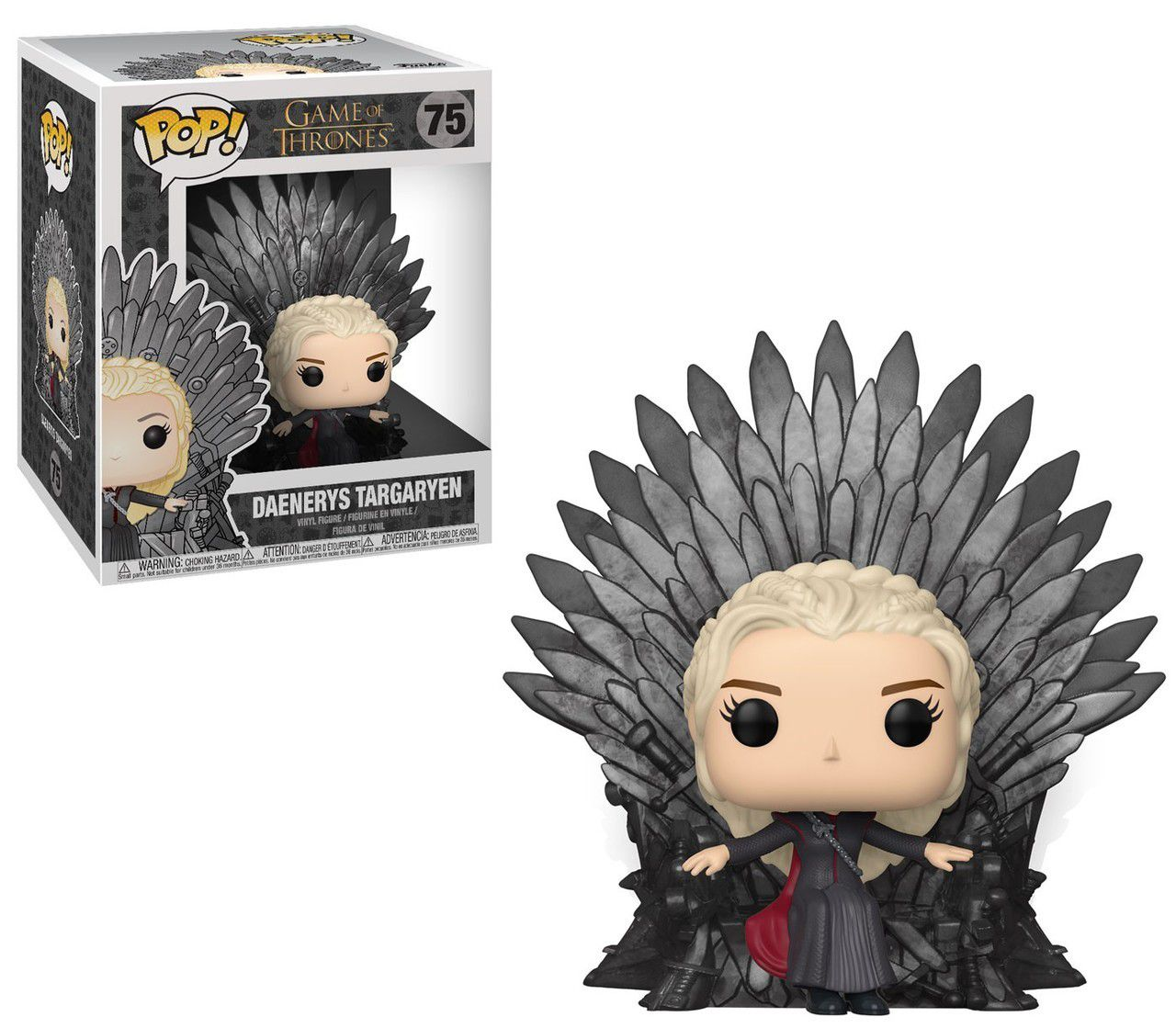 POP FUNKO 75 Daenerys on throne Game of thrones got