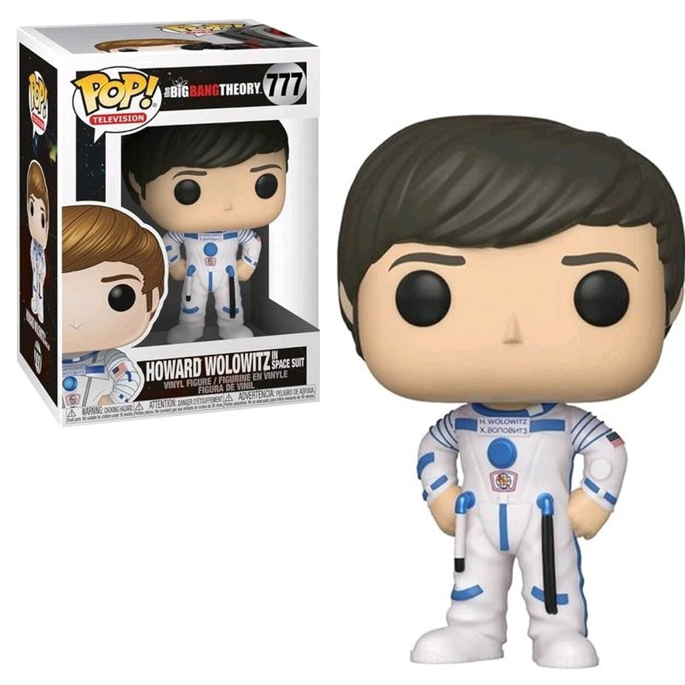 POP FUNKO 777 HOWARD WOLOWITZ SPACE SUIT BIG BANG THEORY