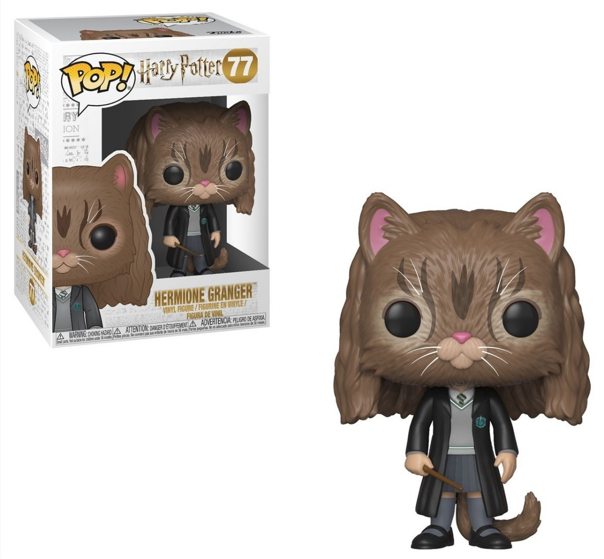 POP FUNKO 77 HERMIONE GRANGER CAT HARRY POTTER