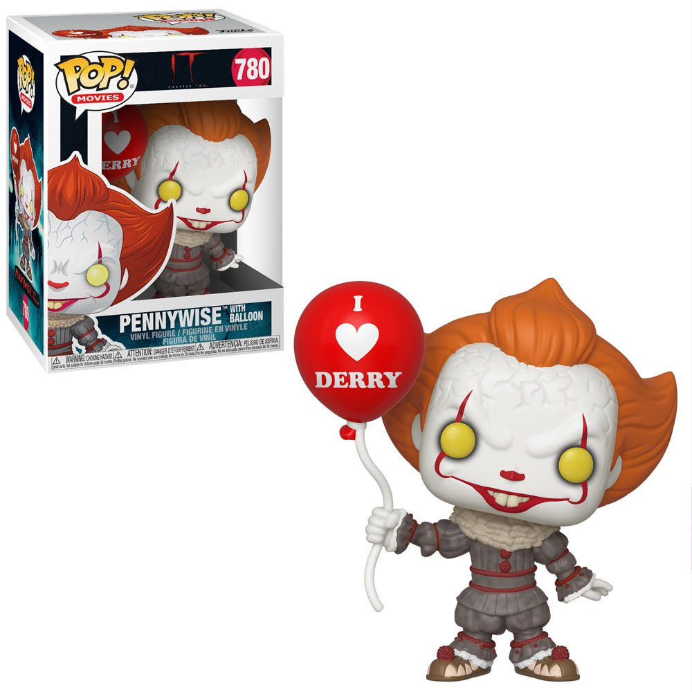 POP FUNKO 780 PENNYWISE with BALLOON