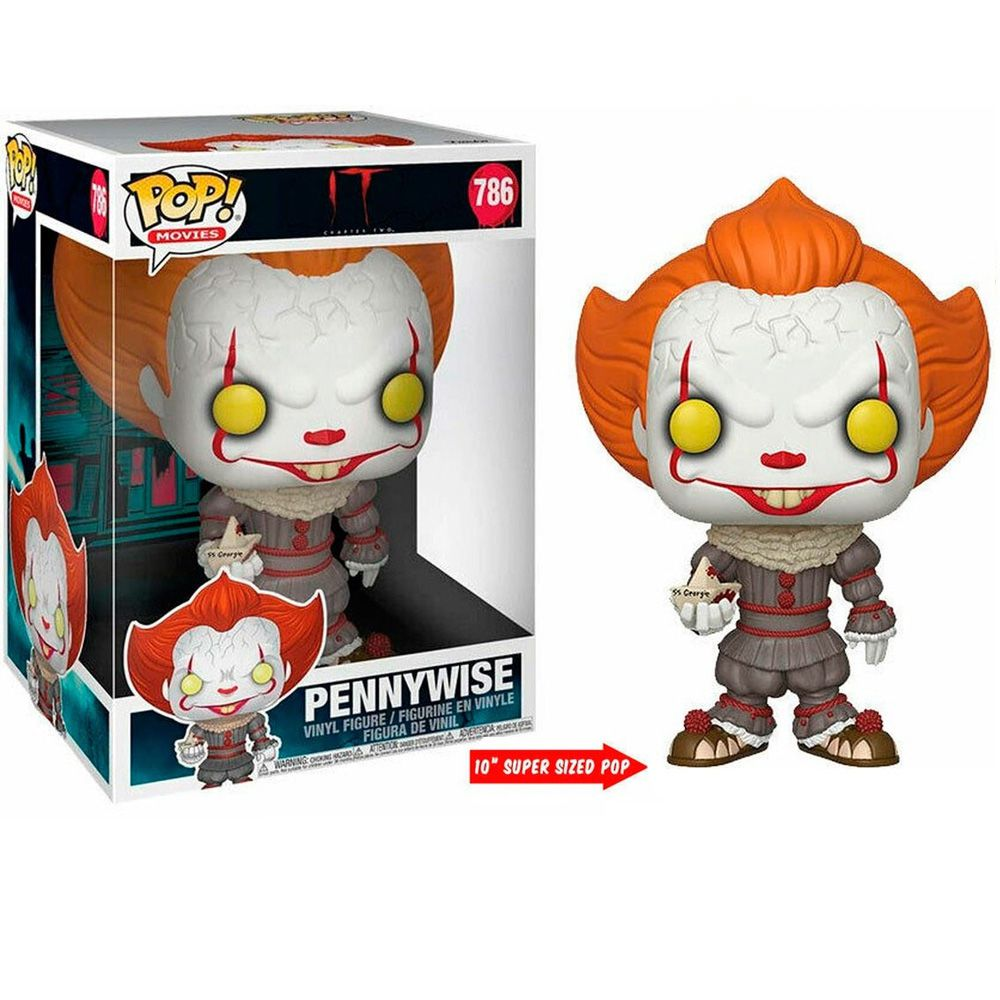 POP FUNKO 786 PENNYWISE IT Chapter Two SUPER SIZE 26 CM