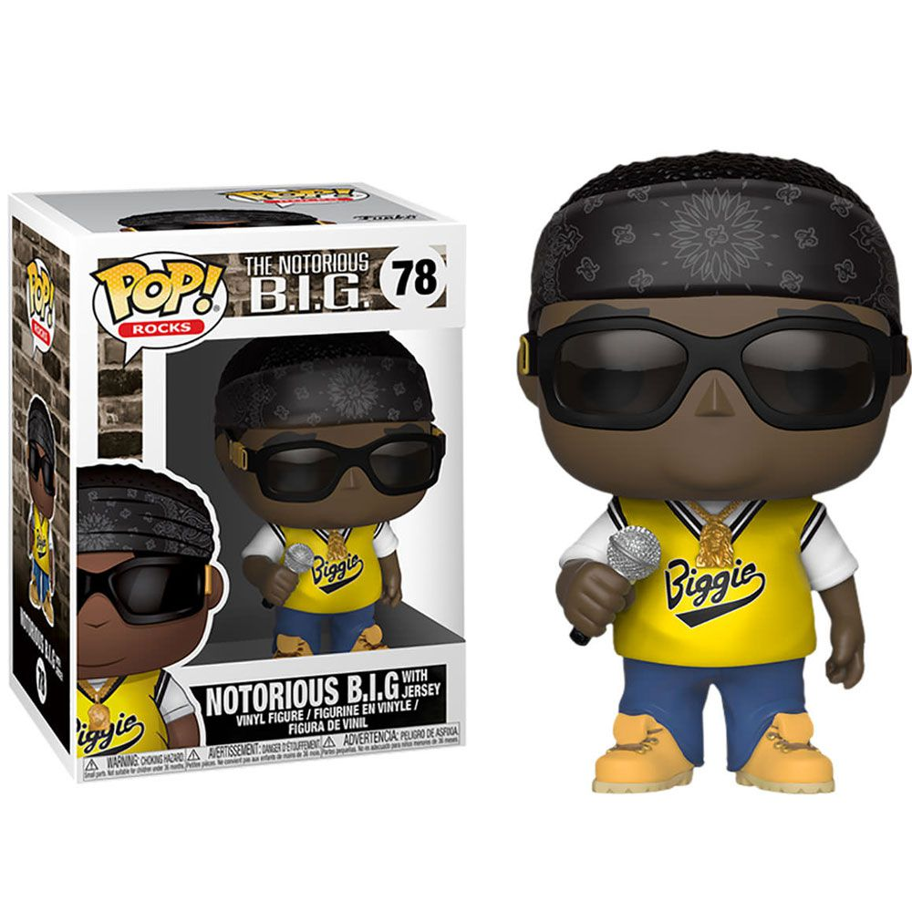POP FUNKO 78 THE NOTORIOUS BIG WITH JERSEY B.I.G