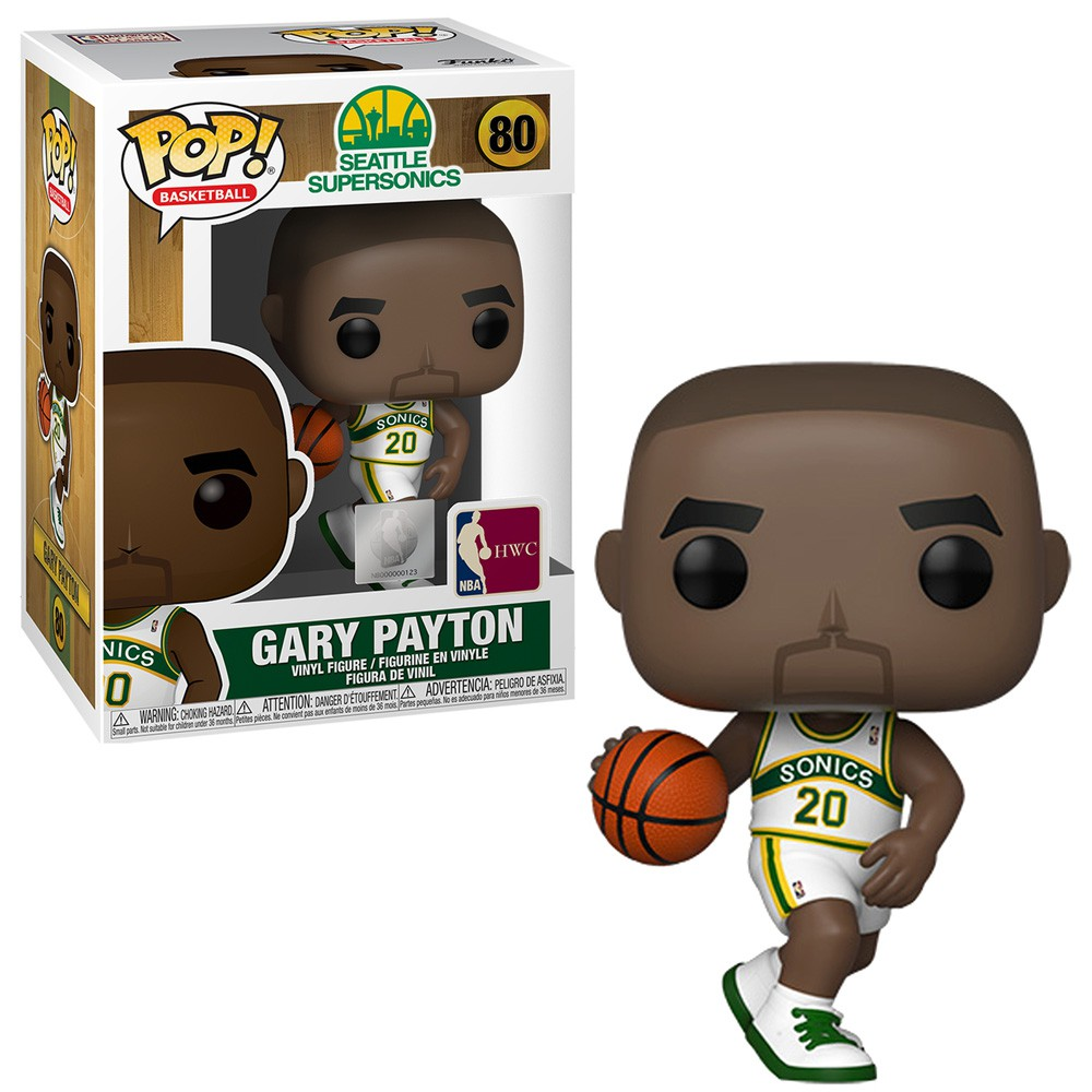 POP FUNKO 80 GARY PAYTON SONICS NBA LEGENDS