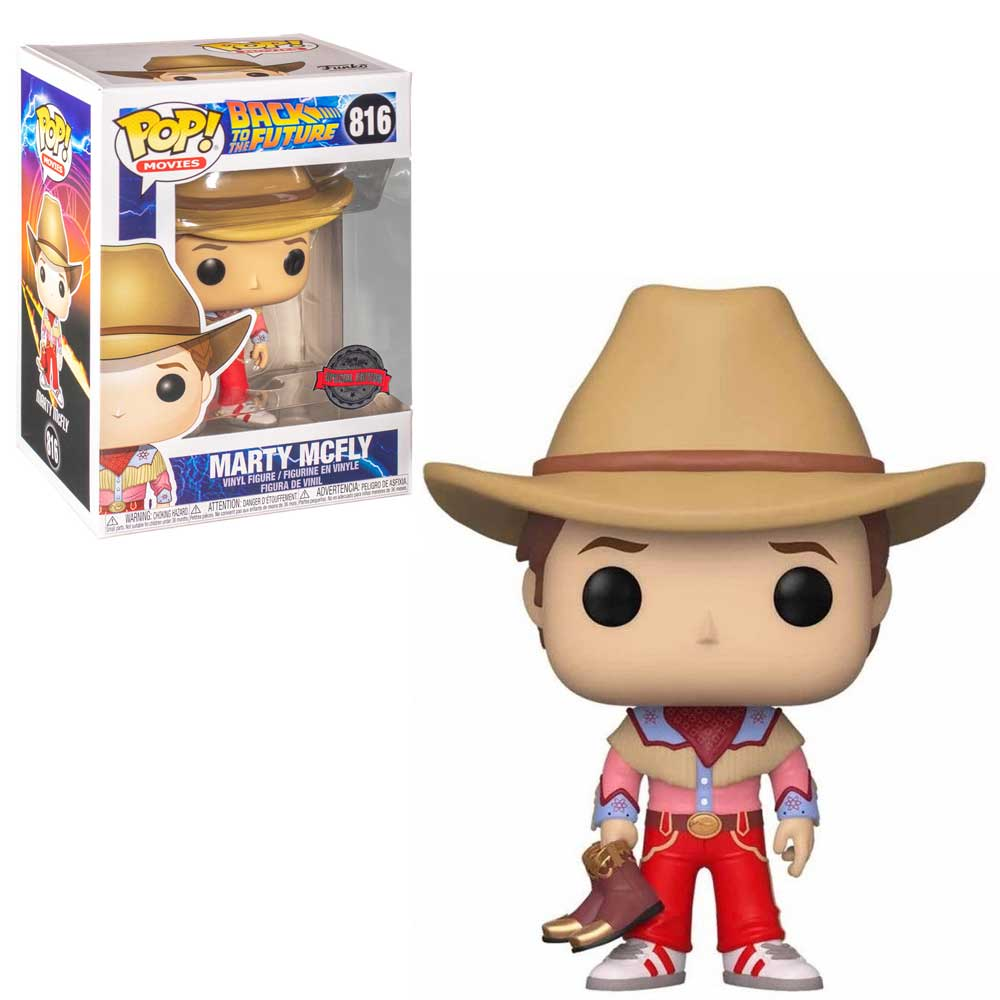 POP FUNKO 816 MARTY MCFLY SPECIAL EDITION BACK TO THE FUTURE