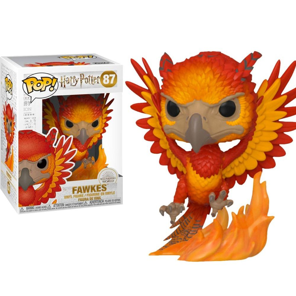 POP FUNKO 87 FAWKES HARRY POTTER