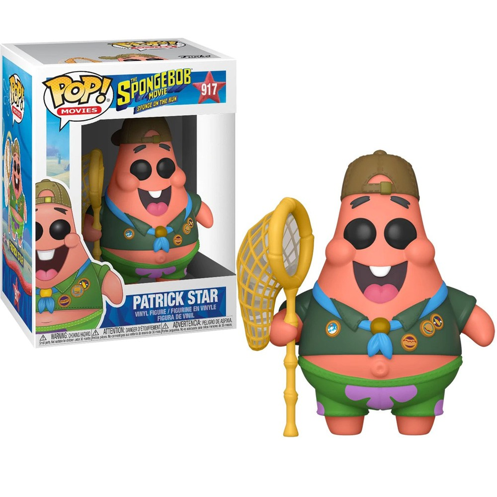 POP FUNKO 917 PATRICK STAR SPONGEBOB SQUARE PANTS BOB SPONJA