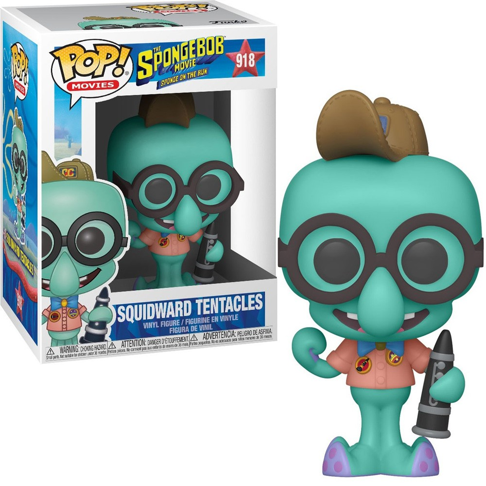 POP FUNKO 918 SQUIDWARD TENTACLES SPONGEBOB SQUAREPANTS LULA