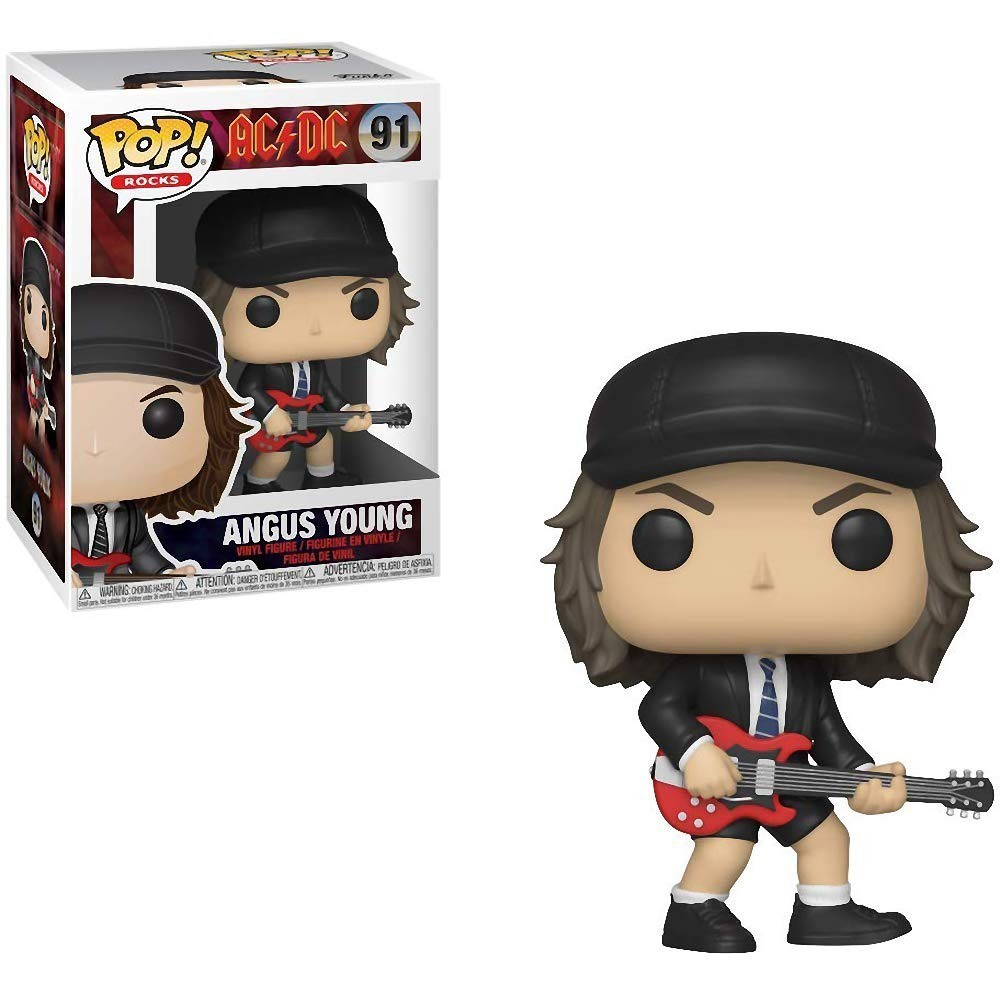 POP FUNKO 91 ANGUS YOUNG AD DC Styles May Vary