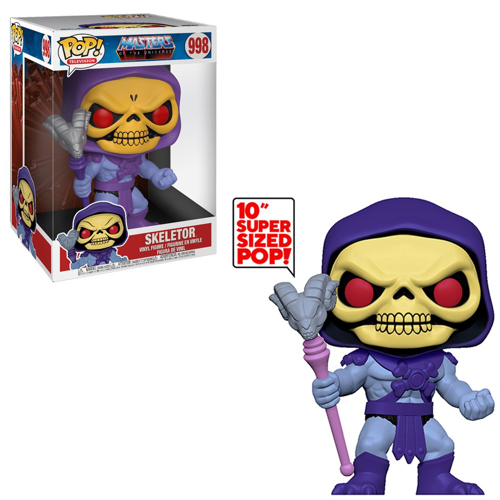 POP FUNKO 998 SKELETOR MASTERS OF THE UNIVERSE HE MAN