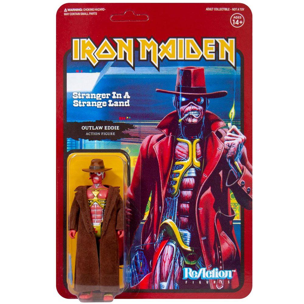 ReAction Iron Maiden Outlaw Eddie Stranger in A Strange Land