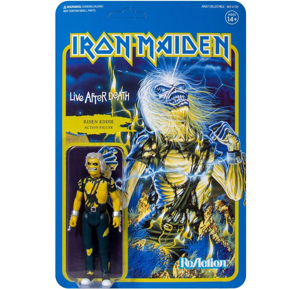 ReAction Iron Maiden Risen Eddie Live After Death SUPER7