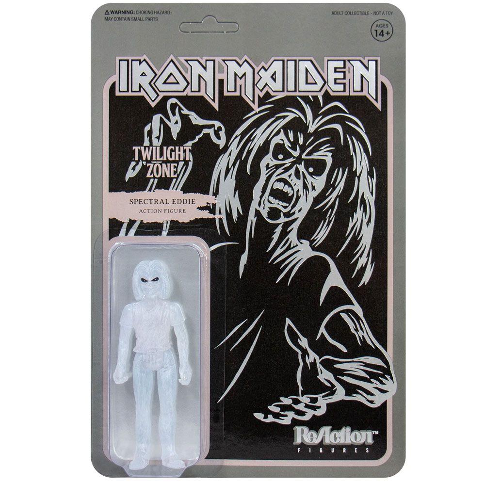ReAction Iron Maiden Spectral Eddie Twilight Zone SUPER7