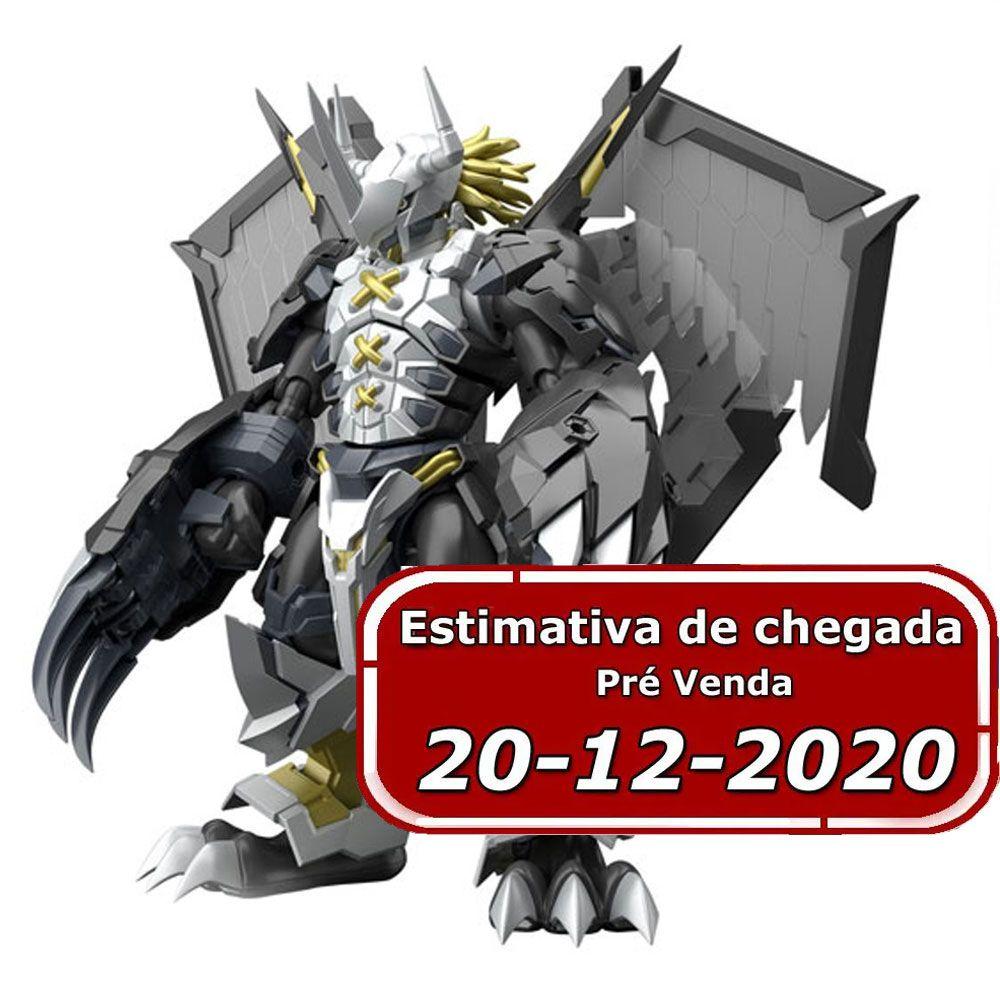 (RESERVA 10% DO VALOR)  Digimon Black Wargreymon Figure Rise Amplified