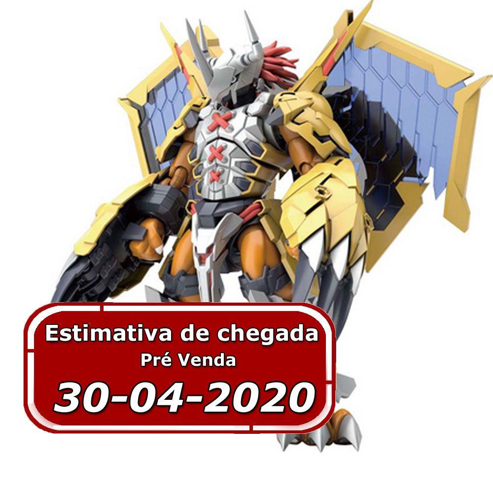 (RESERVA 10% DO VALOR)  Digimon Wargreymon Figure Rise Amplified