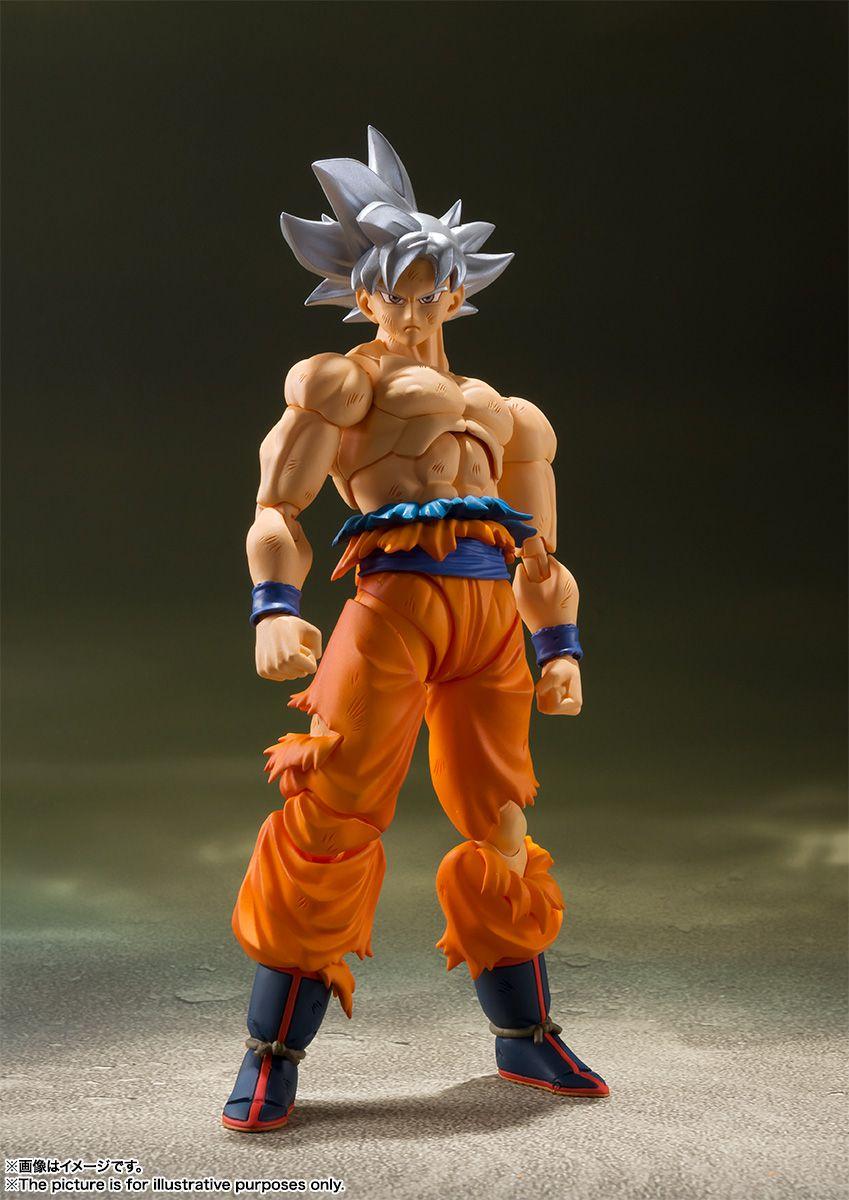 (RESERVA 10% DO VALOR) Dragon Ball Goku Ultra Instinct S.H.Figuarts lote 3 - 30/08