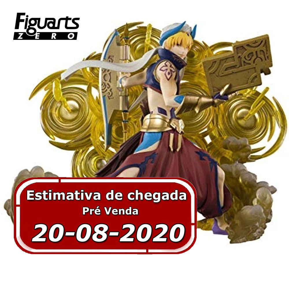 (RESERVA 10% DO VALOR) Fate/Grand Order Absolute Demonic Battlefront Babylonia Gilgamesh Figuarts ZERO