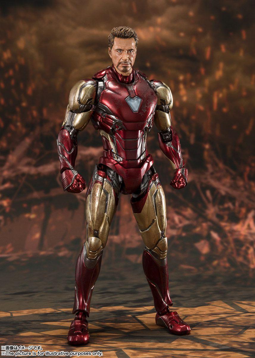 (RESERVA 10% DO VALOR) Iron Man Mark 85 Avengers EndGame Final Battle S.H.Figuarts  LOTE 2 - 30/09